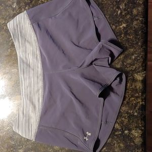 Under Armour Dark Grey Heat Gear Shorts